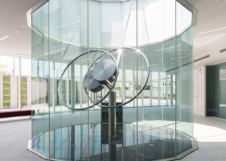Kaoru Matsumoto [Cycle-90° Air Stream] @ Iwatani R&D Center (Iwatani Corporation)