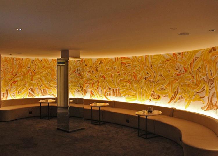 Satoshi Kawata | Mural works @ Asia Herb Association's Benchasiri Park Shop (Bangkok)