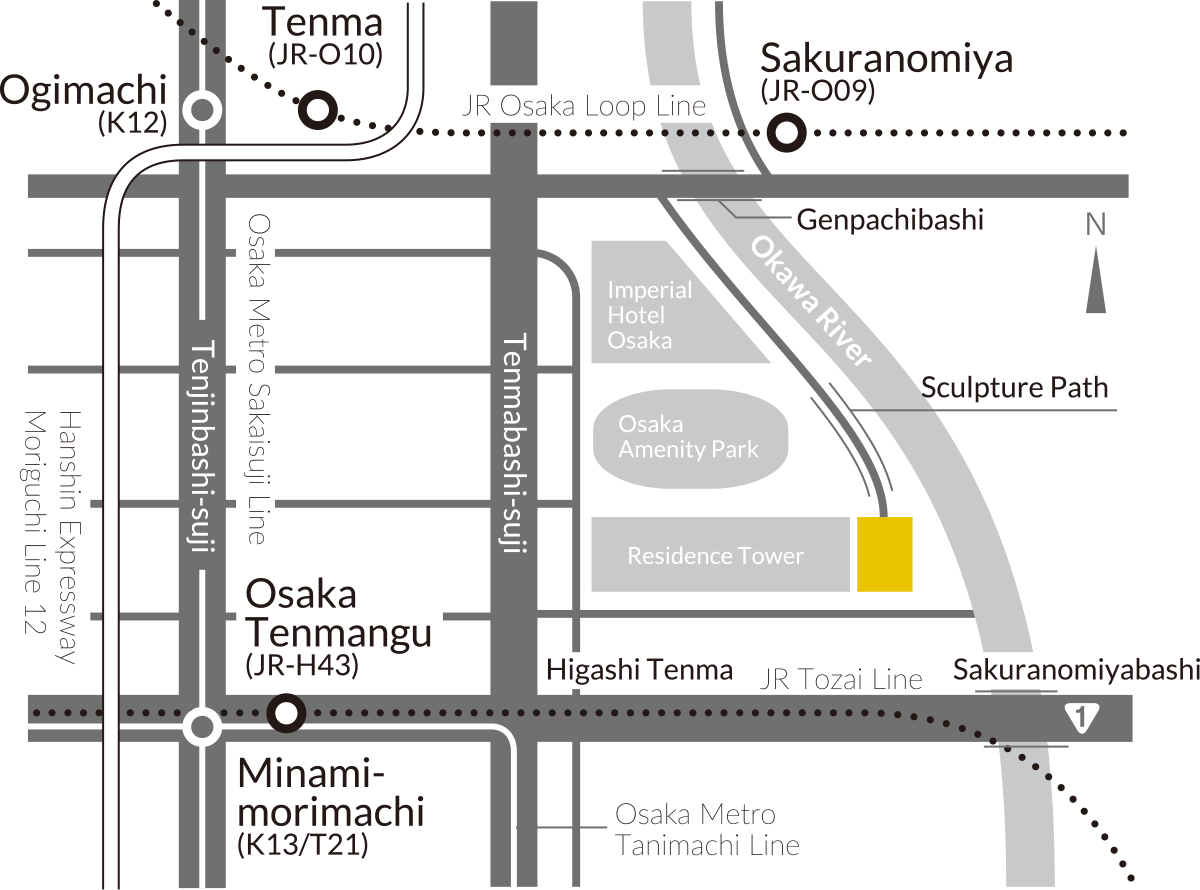 ARTCOURT Gallery|Access Map