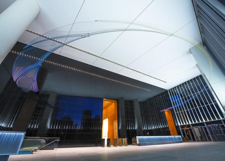 西野康造《Sky Memory》@ 4 World Trade Center, NY